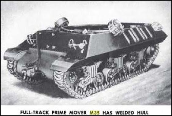 US ordnance Prime Mover M35
